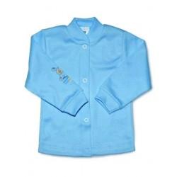 Kojenecký kabátek New Baby modrý, Modrá, 50