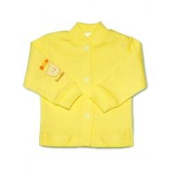 Kojenecký kabátek New Baby žlutý, Žlutá, 50
