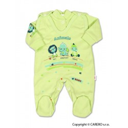 2-dílná souprava New Baby Zvířátka zelená