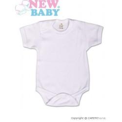 Body krátký rukáv New Baby Classic, Bílá, 50