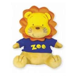 Plyšová hračka s hracím strojkem Baby Mix lev