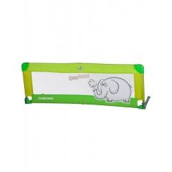 Mantinel do postýlky CARETERO Elephant zelený, Zelená