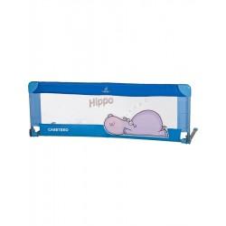 Mantinel do postýlky CARETERO Hippo modrý, Modrá