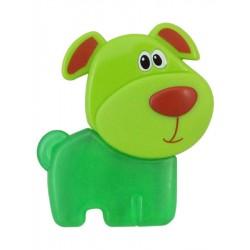 Chladící kousátko Baby Mix Pejsek zelené, Zelená