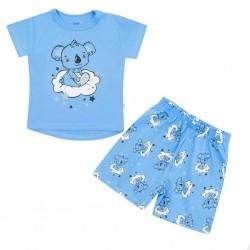 Dětské letní pyžamko New Baby Dream modré, Modrá, 74 (6-9m)