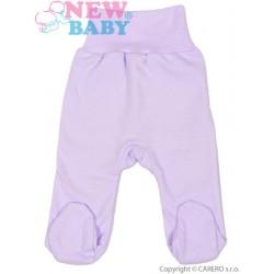 Kojenecké polodupačky New Baby fialové, Fialová, 86 (12-18m)