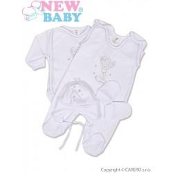 4-dílná soupravička New Baby andílek