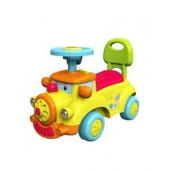 Dětské jezdítko se zvukem  Baby Mix Happy Train žluté