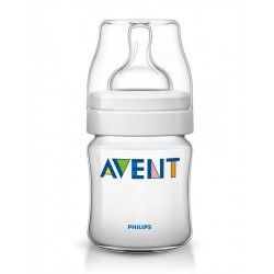 Kojenecká láhev Avent Classic+ 125 ml, Transparentní
