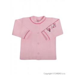 Kojenecký kabátek Bobas Fashion Benjamin růžový, Růžová, 62 (3-6m)