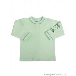 Kojenecký kabátek Bobas Fashion Benjamin zelený, Zelená, 68 (4-6m)