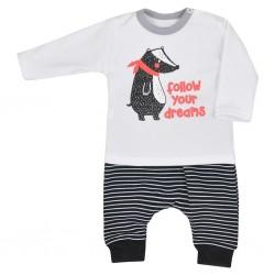 Kojenecké tepláčky a tričko Koala Jezevec, Dle obrázku, 62 (3-6m)