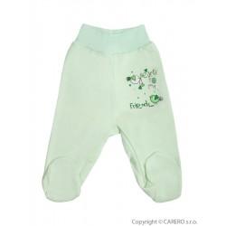 Kojenecké polodupačky Bobas Fashion Benjamin zelené, Zelená, 86 (12-18m)