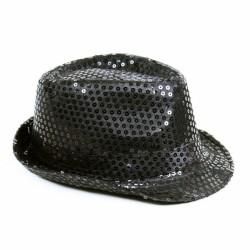 Klobouk disco černý dospělý - Michael Jackson style