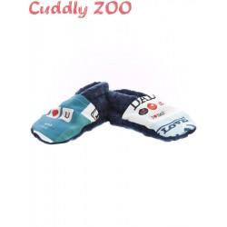 Bačkůrky Cuddly Zoo Táta S tmavě modré, Modrá