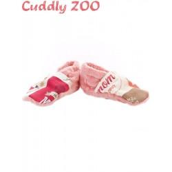 Bačkůrky Cuddly Zoo Máma S světle červená, Červená