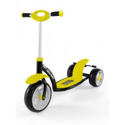 Dětská koloběžka Milly Mally Crazy Scooter  yellow