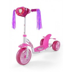 Dětská koloběžka Milly Mally Crazy Scooter pink Kitty