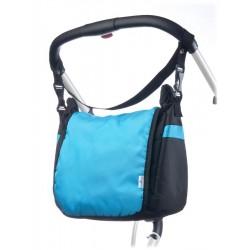 Taška na kočárek CARETERO - turquoise, Tyrkysová