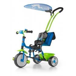 Dětská tříkolka Milly Mally Boby Delux 2015 blue-green