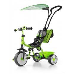 Dětská tříkolka Milly Mally Boby Delux 2015 green