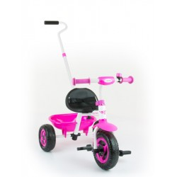 Dětská tříkolka Milly Mally Boby TURBO pink