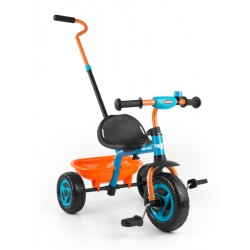 Dětská tříkolka Milly Mally Boby TURBO orange