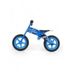 Dětské odrážedlo kolo Milly Mally Flip blue