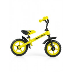 Dětské odrážedlo kolo Milly Mally Dragon yellow