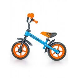 Dětské odrážedlo kolo Milly Mally Dragon orange-blue