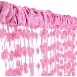 Dětská záclona nejen do pokojíčku Baby Ball, 250x160 cm, růžová - 1ks