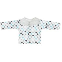 Bavlněná košilka Bubble Boo  - tyrkys/šedá