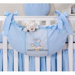 Luxusní kapsář na hračky - Mráček modrý kr.