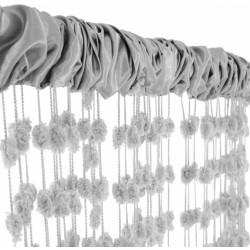 Dětská záclona nejen do pokojíčku Baby Ball, 250x160 cm, sv. šedá - 1ks