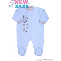 Kojenecký overal New Baby Kamarádi modrý