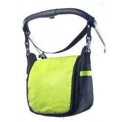 Taška na kočárek CARETERO - green, Zelená