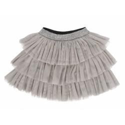Mamatti Kojenecká tylová sukně Louka, šedá