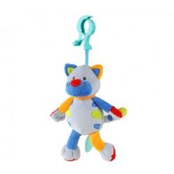 Závěsná hračka se zvukem a vibrací Kočička