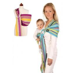 Šátek na nošení dětí Womar Hug Me, Tyrkysová