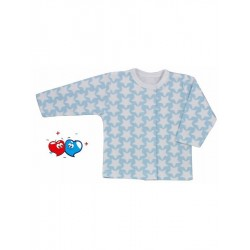 Kojenecký kabátek Koala Magnetky modrý s hvězdičkami, Modrá, 62 (3-6m)