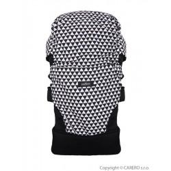 Nosítko Womar Zaffiro Care černo-bílé, Černá