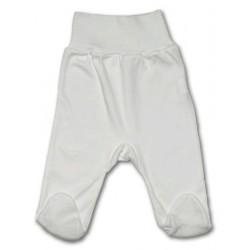 Kojenecké polodupačky New Baby bílé, Bílá, 50