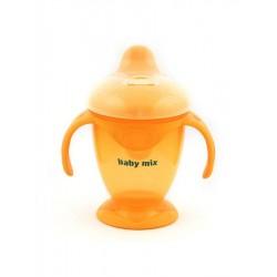Dětský kouzelný hrneček Baby Mix 200 ml  oranžový