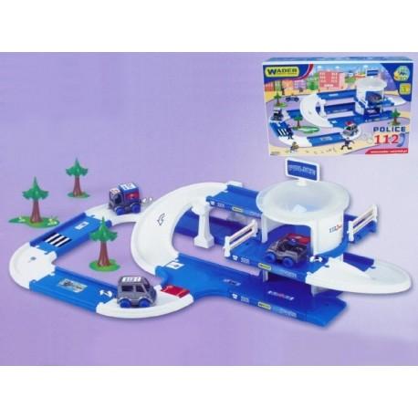 Kid Cars 3D Policie plast 3,8m v krabici 12m+ Wader