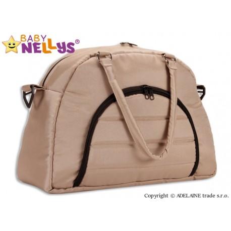 Taška na kočárek Baby Nellys ® ADELA LUX - béžová