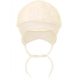 Fleecová čepička Baby Service béžová, Béžová, 68 (4-6m)