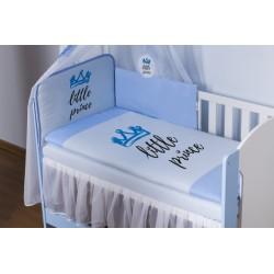 Baby Nellys Bavlněné povlečení Little Prince - modré