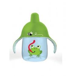 Kouzelný hrneček Avent Premium žába 260 ml zelený