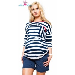 Těhotenské kraťasy BRIA - jeans