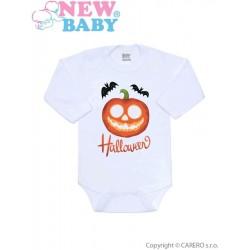 Body s potiskem New Baby Halloween, Oranžová, 62 (3-6m)